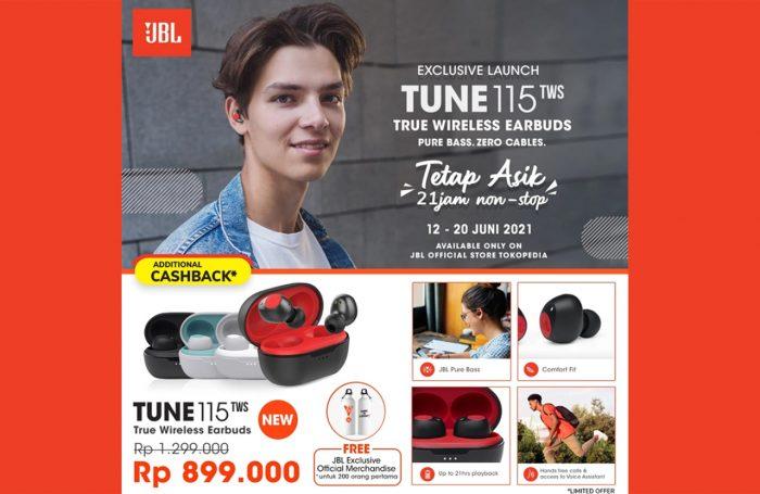 JBL Tune 115 TWS on Tokopedia